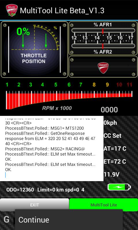 Ducati Diavel Pin Code Reset